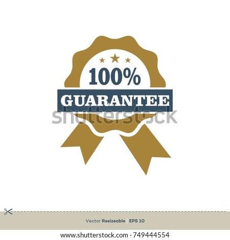Award ribbon guarantee vector logo template stock vector 749444554 award ribbon guarantee vector logo template maxwellsz