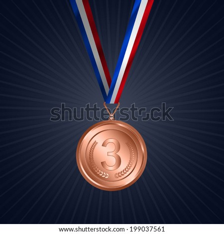 Award shield / medal with Ribbon.  Useful elements for your layout design. Premium Quality, Genuine and Satisfaction, Easy to Edit - stock vector
