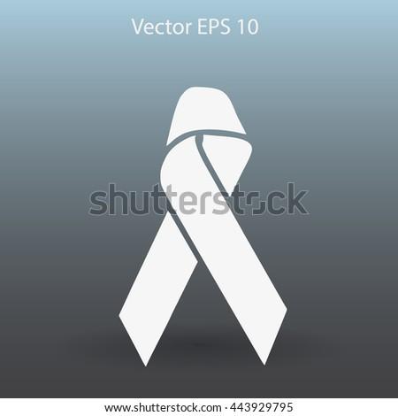 Awareness ribbon vector illustration - stock vector