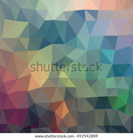 Awesome shape triangles geometric background with 3d effect