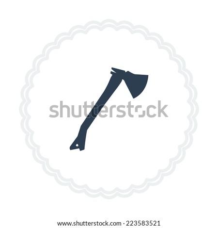 ax icon - stock vector
