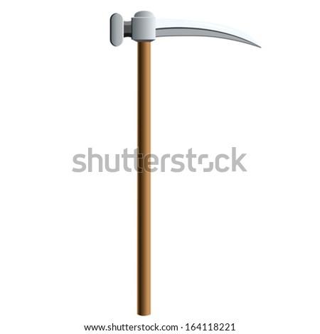 ax, vector illustration - stock vector
