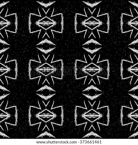 abstract seamless pattern black white vector stock vector 353179454 shutterstock. Black Bedroom Furniture Sets. Home Design Ideas