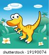 Baby Dinosaurs - stock vector