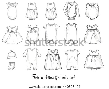 how to draw female clothes