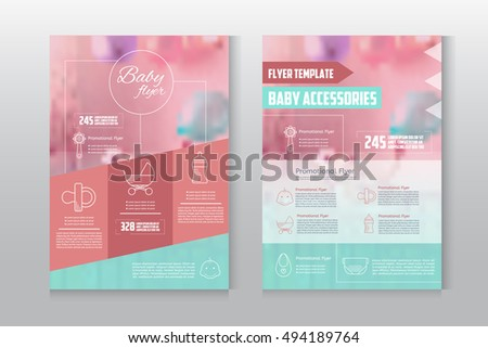 Baby flyer letterhead template business brochure stock vector baby flyer letterhead template business brochure stock vector 494189764 shutterstock spiritdancerdesigns Image collections