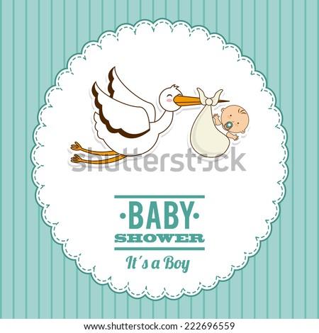 baby graphic design , vector illustration - stock vector