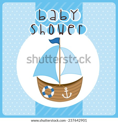 baby shower design,vector illustration eps10 graphic