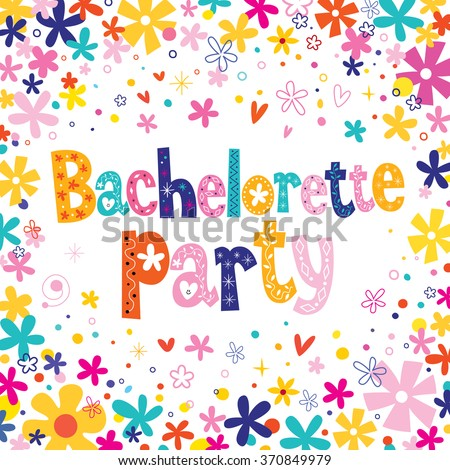 Bachelorette party - stock vector