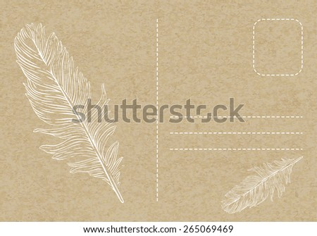 Postcard Background Stock Images, Royalty-Free Images & Vectors