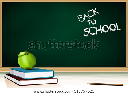 Back to school background eps10