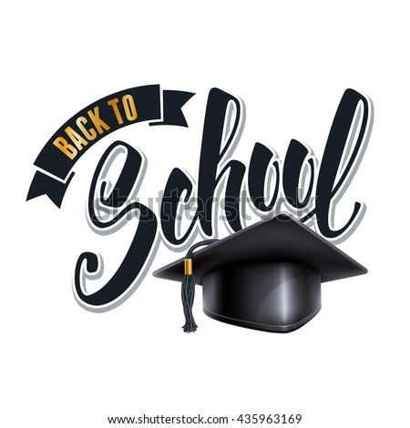 Class Reunion Graduation Cap Isolated On Stock