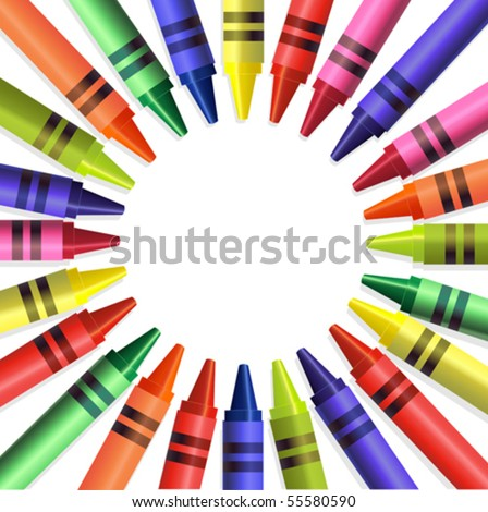 crayons background