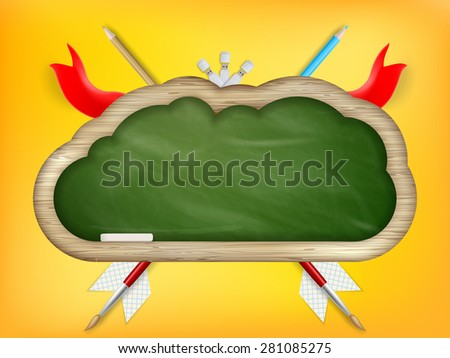 Back to school. EPS 10 vector file included - stock vector