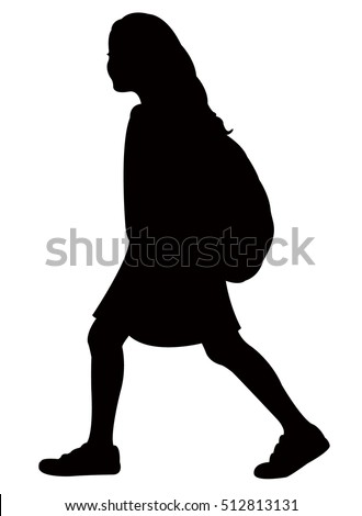 Girl Silhouette Stock Images Royalty Free Images Amp Vectors Shutterstock