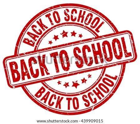 back to school red grunge round vintage rubber stamp.back to school stamp.back to school round stamp.back to school grunge stamp.back to school.back to school vintage stamp. - stock vector