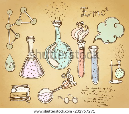 Science And Education Seamless Pattern. Stock Illustration - Image ...