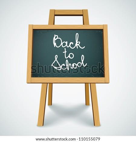 Back to School. Vector eps10 - stock vector