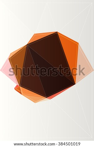 backdrop element background origami abstract color concept