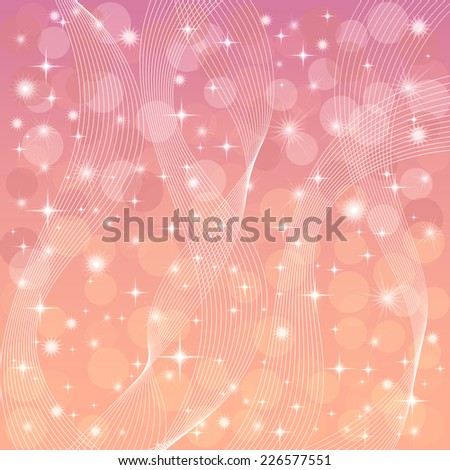 Background, abstract pattern with star and circles. Eps10, contains transparencies. Vector - stock vector