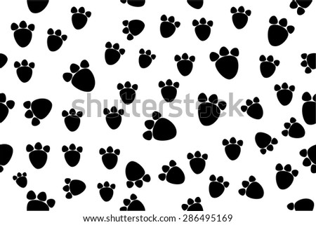 Background - Animal Foot Print