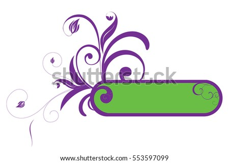 Background banner vector from circles. Beams