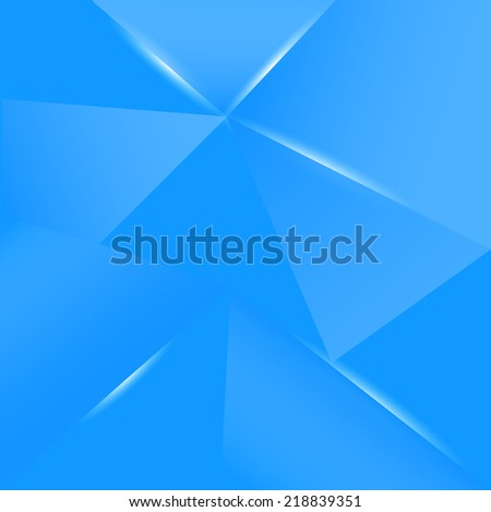 background, blue glow - stock vector