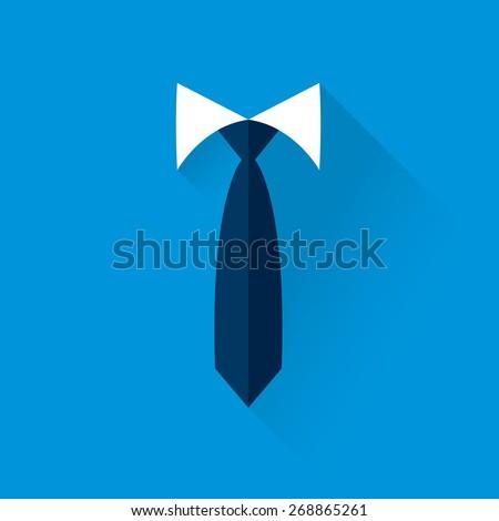 background businessman tie - stock vector