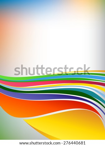 Background concept design for brochure or flyer, abstract vector illustration. - stock vector