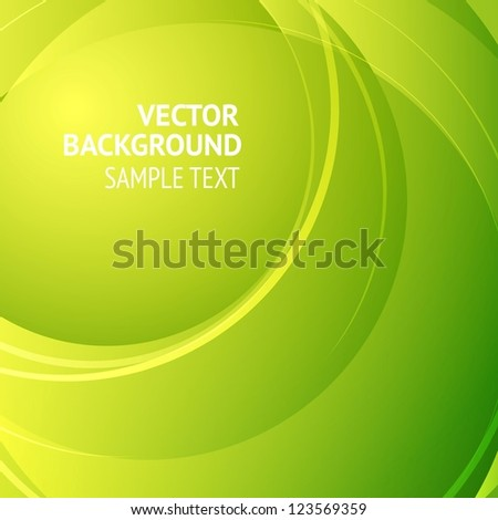 Background design, abstract green backdrop. Vector Illustration, eps10, contains transparencies.