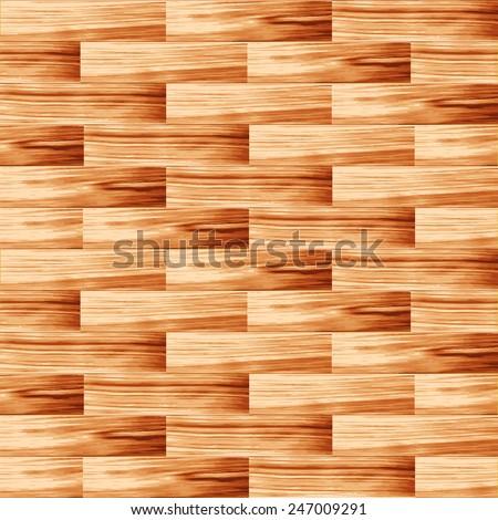 Background floorboard vector illustration - stock vector