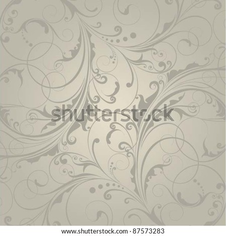 Background floral design.Retro pattern background design.Clipping Mask on the file. - stock vector