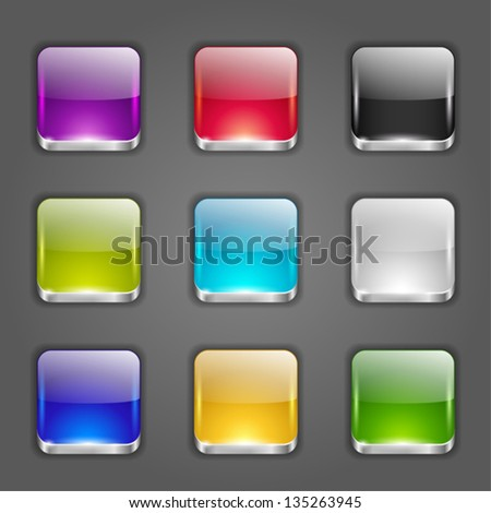 background for the app icons - stock vector