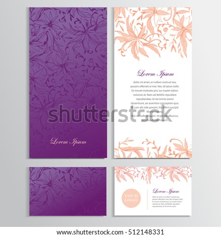 Background Your Card Flyer Invitation Elegant Vector – Business Card Invitations