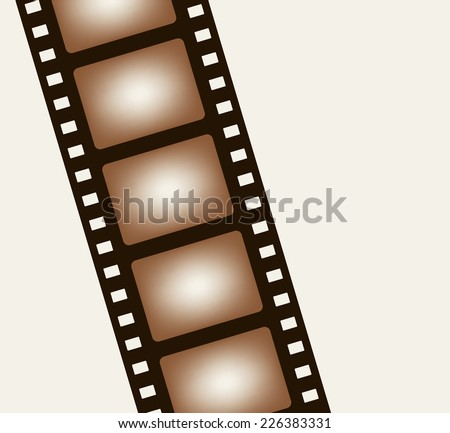 Background from negative film strip. Vector illustration - stock vector