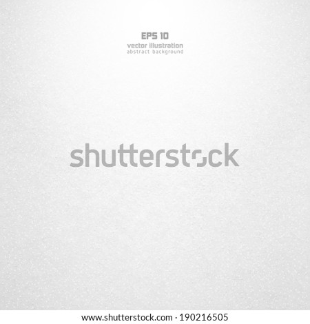Background from white paper texture. EPS 10 Vector illustration. - stock vector