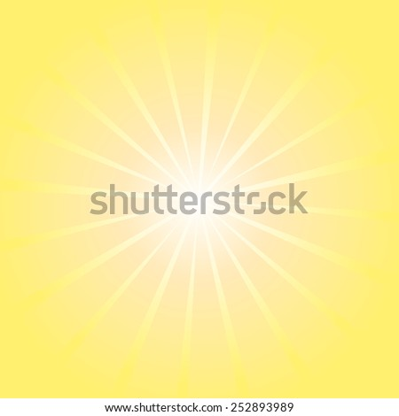 Background glow rays. Vector - stock vector