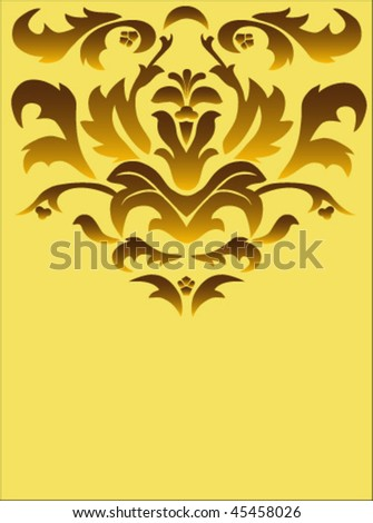 Background greeting card - stock vector