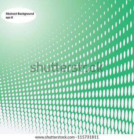 background halftone effect (vector eps8) - stock vector