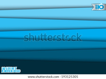 Background of blue horizontal stripes