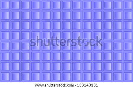 background of blue tiles regularly stacked