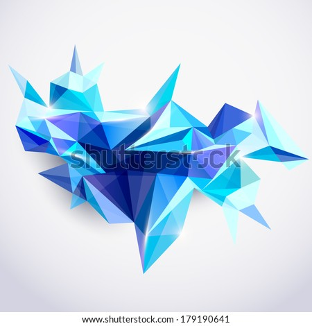 Geometric Shapes 3d Stock Photos Images Pictures
