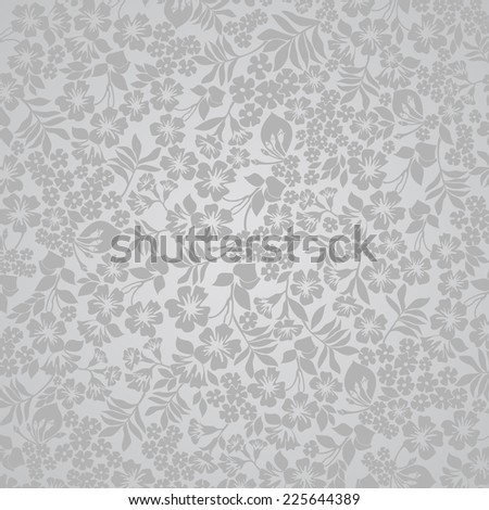Background of flowers. Vector illustration.  - stock vector