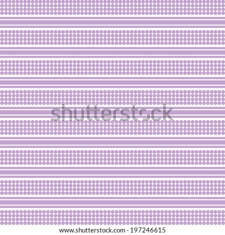 Background of seamless dots pattern - stock vector