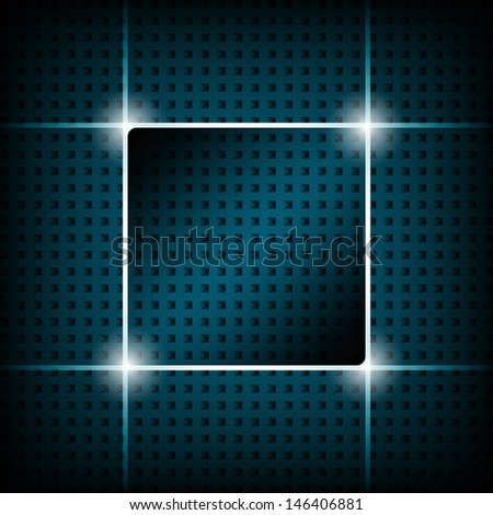 Background of squares - stock vector