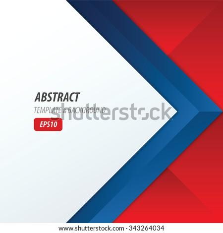 Background Overlap Dimension Modern Red Blue Color