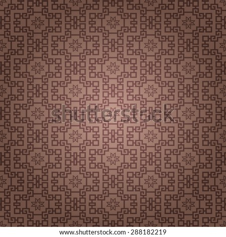 Background pattern. Asian style texture: Chinese, Japanese, Indian. Geometric pattern. Modern wallpaper for your design. Wallpaper pattern. Vector background - stock vector