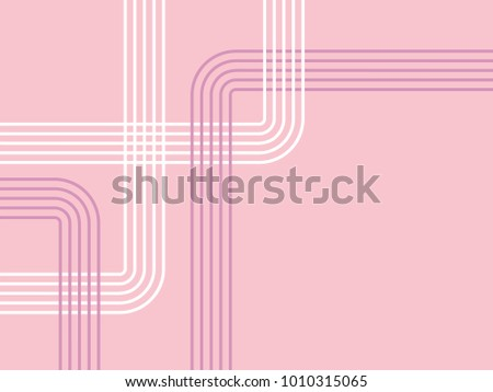 Background pattern in pastel pink with lines - abstract minimal design