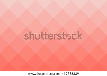 Background pattern made of squares in diagonal position. Vector illustration in shades of red.