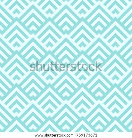 Background Pattern Stripe Seamless Vector Texture Green Aqua Pastel Two Tone Colors Wallpaper Backdrop Chevron